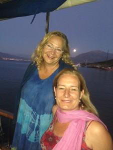 Kursusleder Lene E og  Rejsearrangør Marianne D